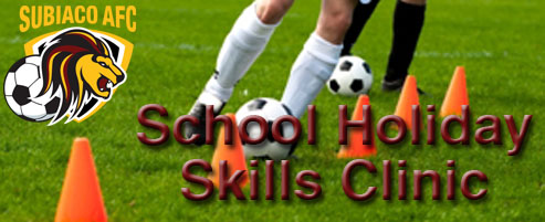 School Holiday Clinic 11-14 July 2016