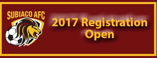 2017 Season Registration Now Open