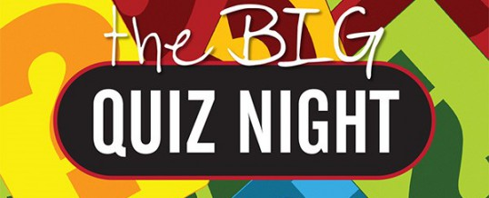 Quiz Night (Friday 5 May 2017)