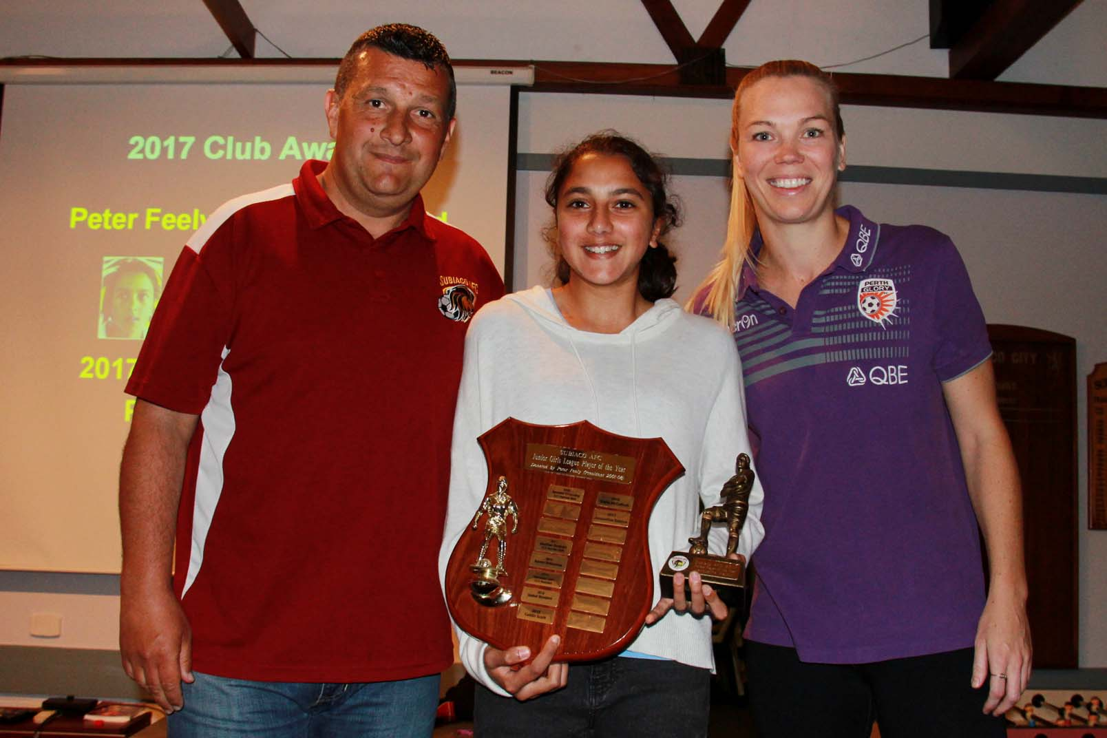 Juniors Girls League Player of the Year