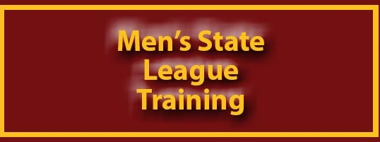Men's State League – Open Training